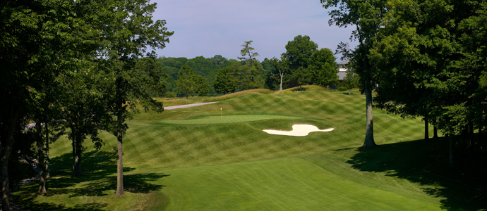 The 12th hole at Valhalla, 2014 PGA Championship host.