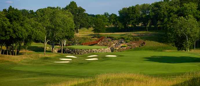 The 13th hole at Valhalla, 2014 PGA Championship host.