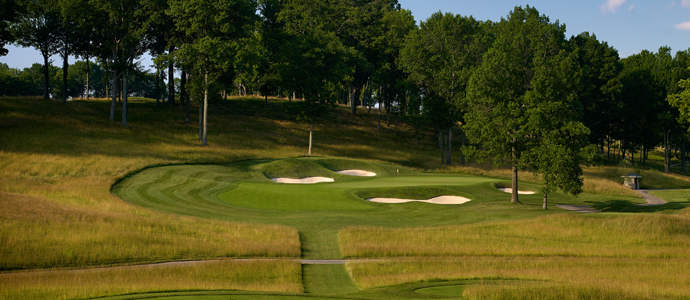 The 14th hole at Valhalla, 2014 PGA Championship host.