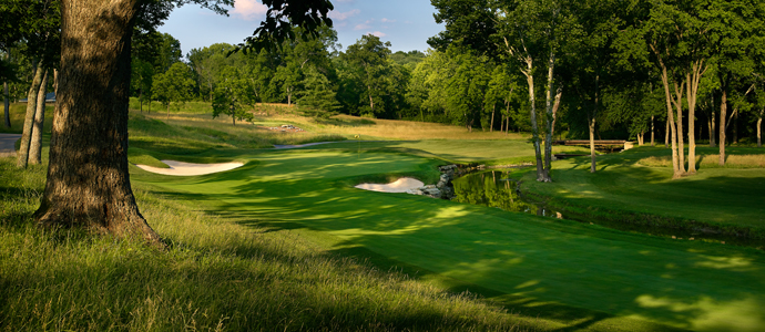 The 15th hole at Valhalla, 2014 PGA Championship host.