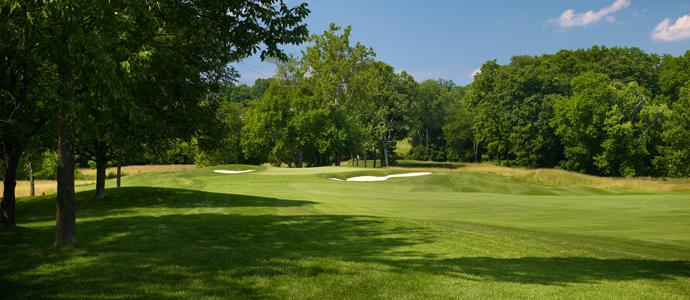 The first hole at Valhalla, 2014 PGA Championship host.