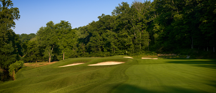 The second hole at Valhalla, 2014 PGA Championship host.