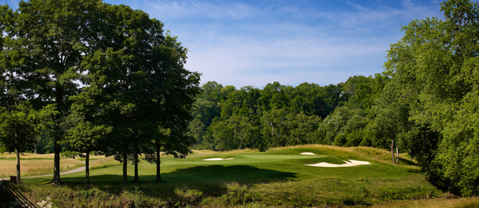 The third hole at Valhalla, 2014 PGA Championship host.