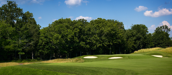 The fourth hole at Valhalla, 2014 PGA Championship host.