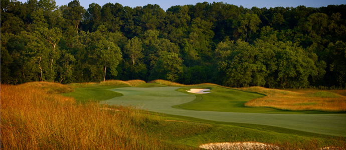 The fifth hole at Valhalla, 2014 PGA Championship host.