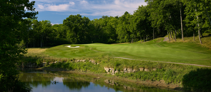 The sixth hole at Valhalla, 2014 PGA Championship host.