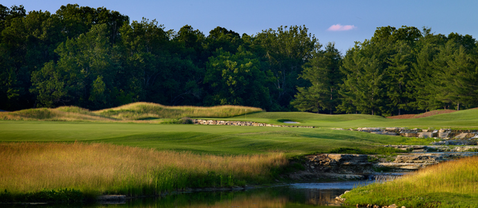 The seventh hole at Valhalla, 2014 PGA Championship host.