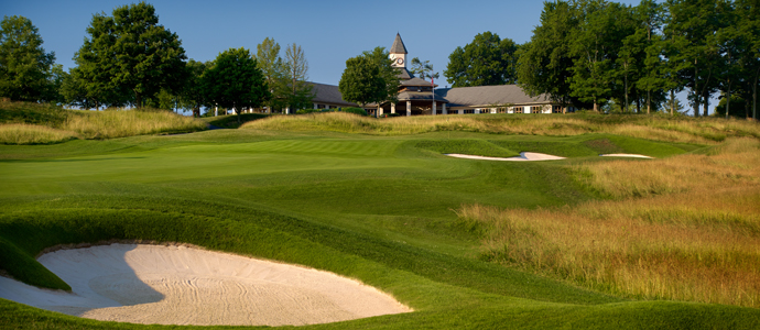 The ninth hole at Valhalla, 2014 PGA Championship host.