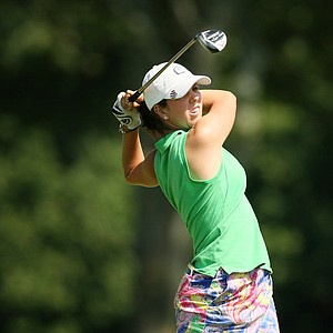 Defending champion, Emma Talley during the 2014 U. S. Women's Amateur at Nassau Country Club.