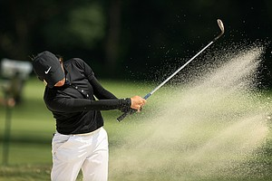 Princess Mary Superal won her match 3&1 during the round of 64 at the 2014 U. S. Women's Amateur at Nassau Country Club.