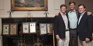 Vestavia CC celebrates collegiate trio