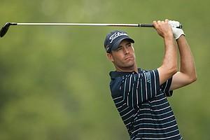 Aaron Krueger during the 2014 PGA Championship at Valhalla.