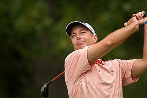 Dave McNabb during the 2014 PGA Championship at Valhalla.
