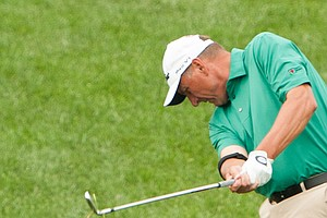 David Tentis during the 2014 PGA Championship at Valhalla.