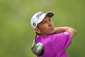 Jerry Smith during the 2014 PGA Championship at Valhalla.
