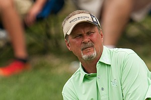 Jim McGovern during the 2014 PGA Championship at Valhalla.