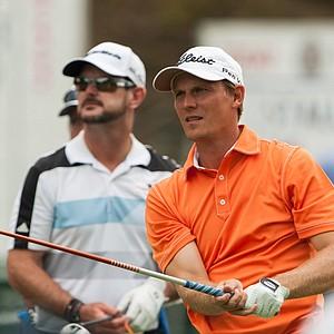 Matt Pesta during the 2014 PGA Championship at Valhalla.