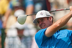 Rob Corcoran during the 2014 PGA Championship at Valhalla.