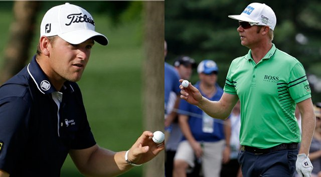 Bernd Wiesberger (left) will compete in the final grouping Sunday with Rory McIlroy, while Mikko Ilonen will be paired with Henrik Stenson at 2:25 p.m.