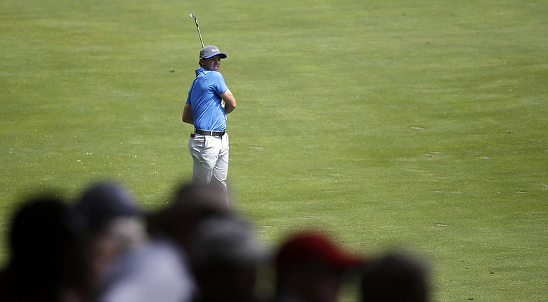 Rory McIlroy will be paired with Bernd Wiesberger in the final round of the 2014 PGA Championship Sunday at Valhalla.