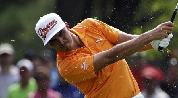 Rickie Fowler during Sunday's final round of the 2014 PGA Championship at Valhalla.