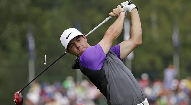 Rory McIlroy during the final round of the 2014 PGA Championship at Valhalla Golf Club.
