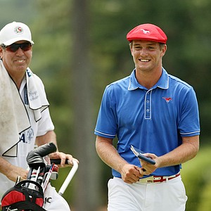 Bryson Dechambeau at the 2014 U.S. Amateur at the Atlanta Athletic Club Highlands Course.