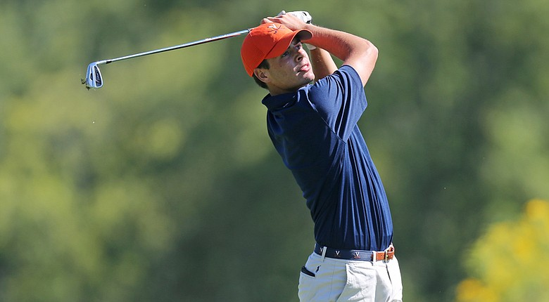 Derek Bard shot a first-round 2-under 69 at the 2014 U.S. Amateur on Monday at Atlanta Athletic Club.