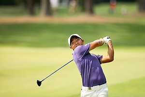 Cheng-Tsung Pan during the 2014 U.S. Amateur at the Atlanta Athletic Club.