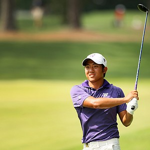 Cheng-Tsung Pan at the 2014 U.S. Amateur at the Atlanta Athletic Club.