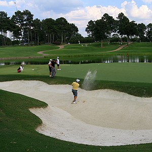 No. 17 on the Highlands Course during the 2014 U.S. Amateur at the Atlanta Athletic Club.