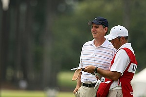 Mike McCoy during the 2014 U.S. Amateur at the Atlanta Athletic Club.