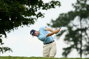 Nicholas Grubnich during the 2014 U.S. Amateur at the Atlanta Athletic Club Highlands Course.