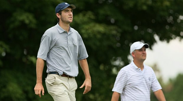 Scottie Scheffler is set to take on Corey Conners in Wednesday's Round of 64 match-play action at the U.S. Amateur.