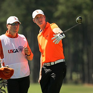 Jordan Niebrugge lost to Wil Zalatoris during the round of 64 at the 2014 U.S. Amateur at the Atlanta Athletic Club.
