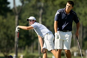Sam Horsfield lost to Isaiah Logue during the round of 64 at the 2014 U.S. Amateur at the Atlanta Athletic Club.