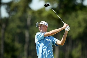 Will Zalatoris defeated Jordan Niebrugge during the round of 64 at the 2014 U.S. Amateur at the Atlanta Athletic Club.