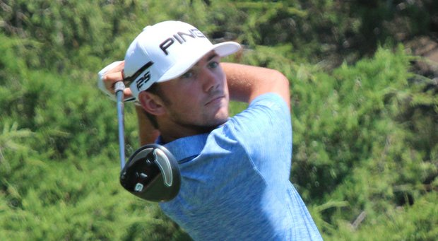 Chandler Phillips during the second round of the Under Armour/Jordan Spieth Championship.