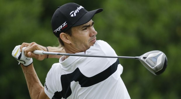 Camilo Villegas opened up the Wyndham Championship with a 7-under 63.