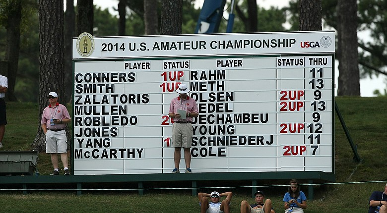 The U.S. Amateur quarterfinals are set for Friday at Atlanta Athletic Club.