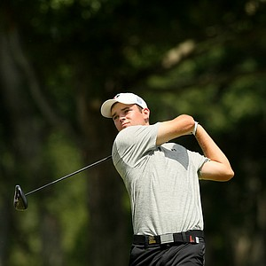 Corey Conners defeated Zachary Olsen, 2&1, during the quarterfinals at the 2014 U.S. Amateur at the Atlanta Athletic Club.