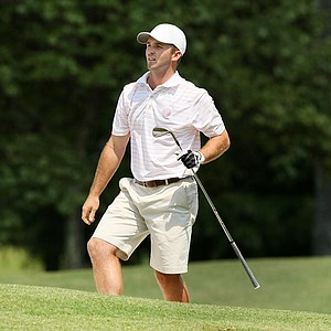 Denny McCarthy during the quarterfinals at the 2014 U.S. Amateur at the Atlanta Athletic Club.