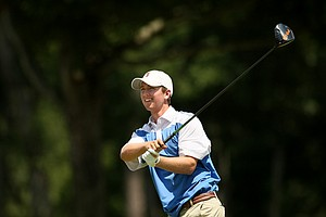 Zachary Olsen during the quarterfinals at the 2014 U.S. Amateur at the Atlanta Athletic Club