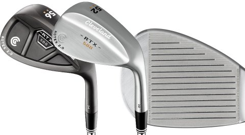 The Cleveland 588 RTX 2.0 Wedges' updated grooves and more sole options mean better performance around the greens.