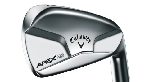 Callaway's Apex Muscleback irons are designed to make it easier to get shots with the long irons up in the air while helping players flight short irons lower.