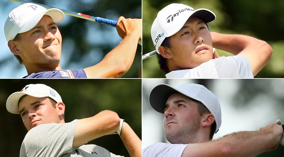 And then there were four. The semifinalists are set for the 114th U.S. Amateur Championship at Atlanta Athletic Club.