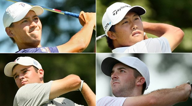The 2014 U.S. Amateur semifinalists are set (clockwise, upper left): Frederick Wedel, Gunn Yang, Denny McCarthy and Corey Conners.