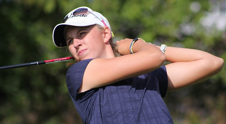 University of Toledo golfer Jennifer Elsholz won the Michigan Women's Amateur Championship with a 2-and-1 victory over Michigan State golfer Lindsey McPherson.