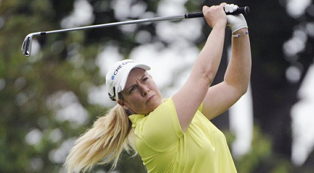 Brittany Lincicome during the third round of the Wegmans LPGA Championship at Monroe Golf Club in Pittsford, N.Y.