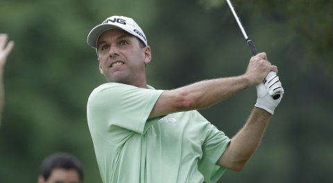 Kevin Sutherland recorded the first sub-60 score on the Champions Tour, carding a 13-under 59 during the second round of the Dick's Sporting Goods Open.